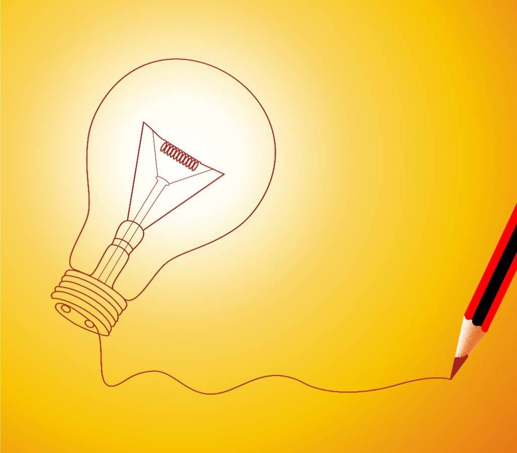Ideas and lightbulbs