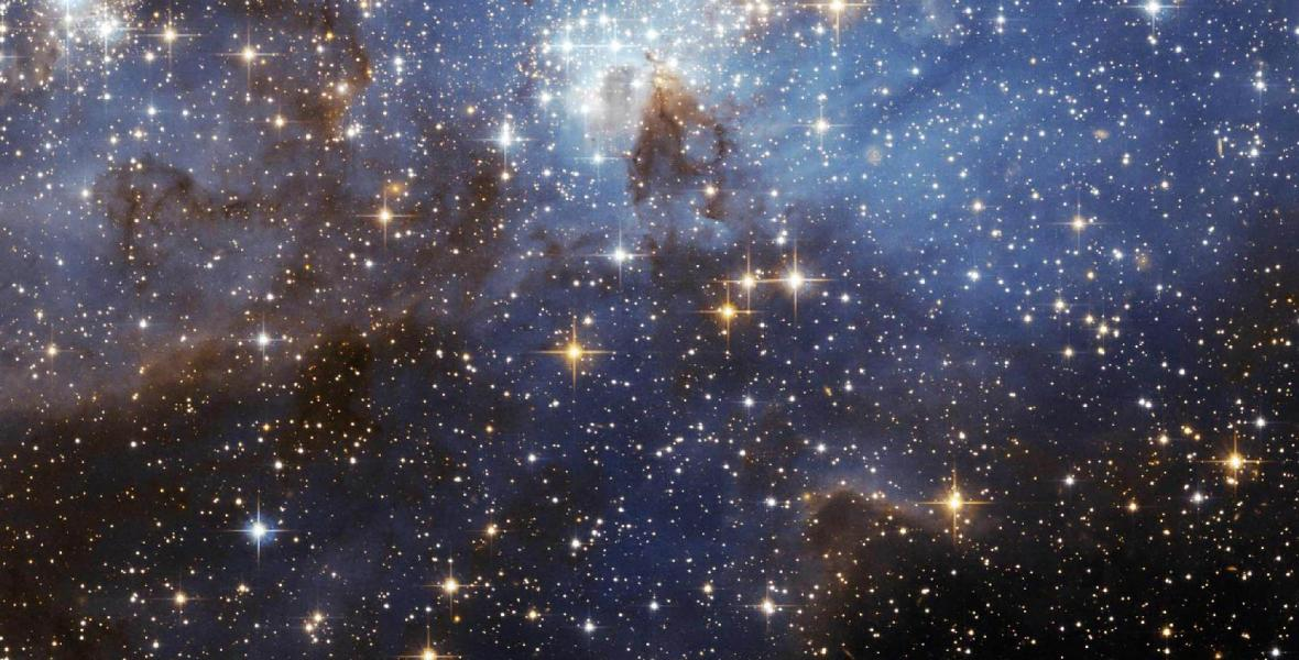 Stars and space